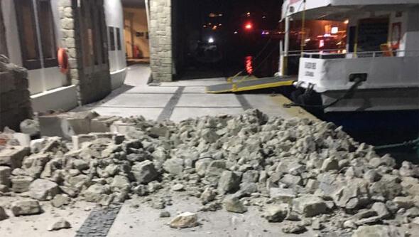 Depremden hemen sonra yaşananlar...
