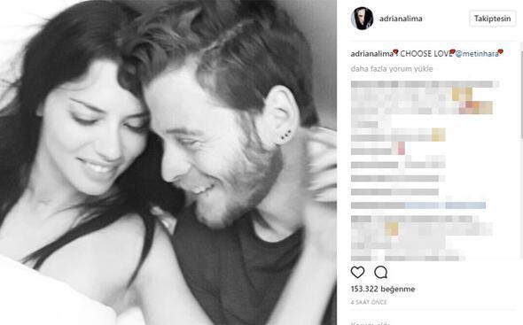 Herkes 'iki güne unutur' diyordu ama... Adriana Limadan aşk paylaşımı