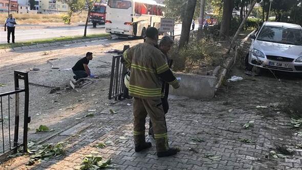 İzmirde patlama