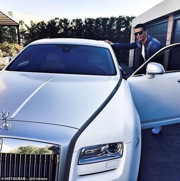 İşte, Cristiano Ronaldo'nun koleksiyonunda yer alan diğer lüks otomobiller