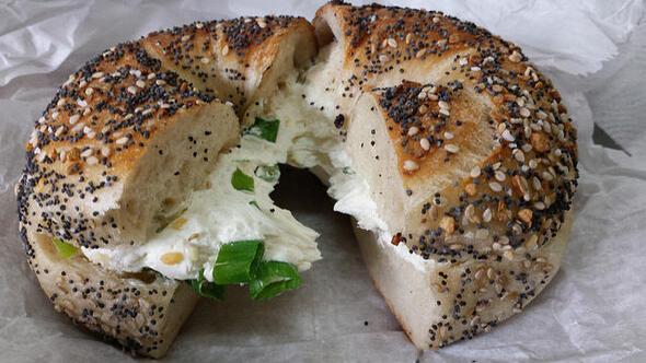 New Yorkta bagel