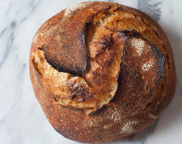 San Franciscoda Tartine Fırınının köy ekmeği