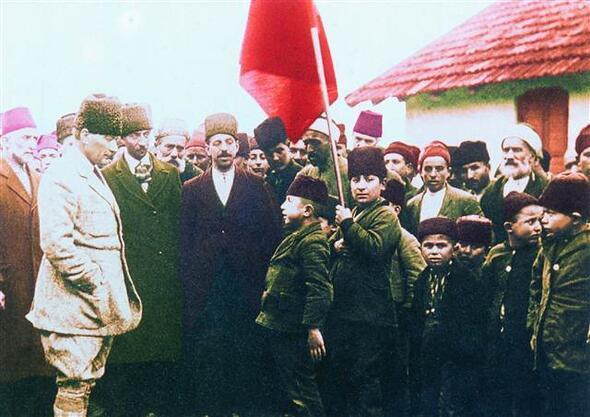 Genelkurmay arşivinden çıktı İşte Atatürkün az bilinen fotoğrafları