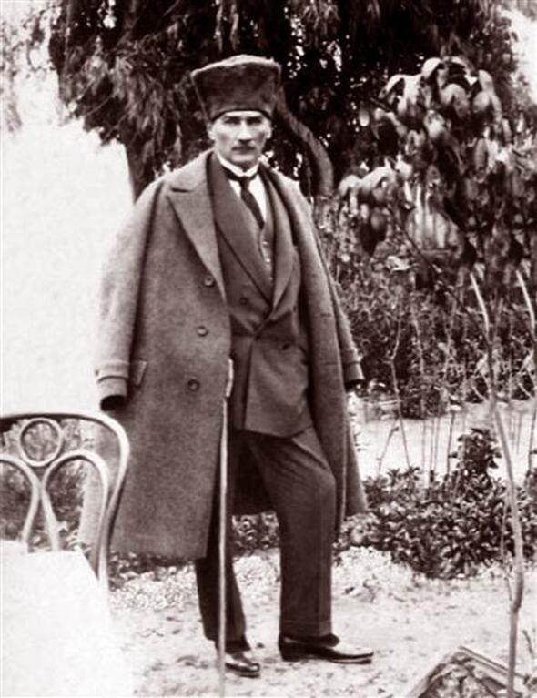 Atatürk a katonai vezető (Forrás: Hürriyet)