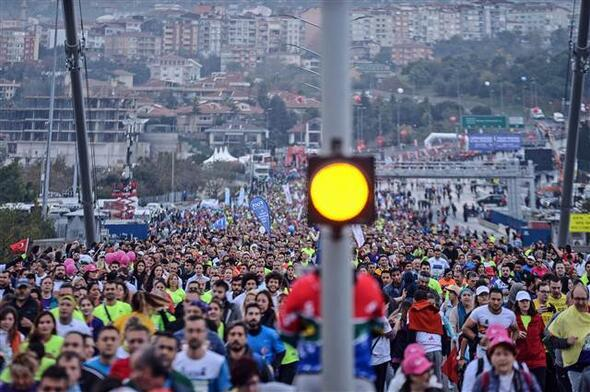 İstanbulda maraton coşkusu