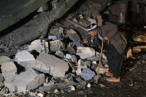 Irakta şiddetli deprem Türkiyeden de hissedildi
