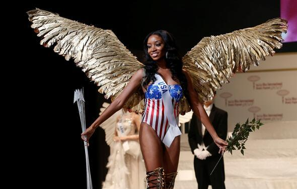 Miss Internationalı Endonezyalı güzel kazandı