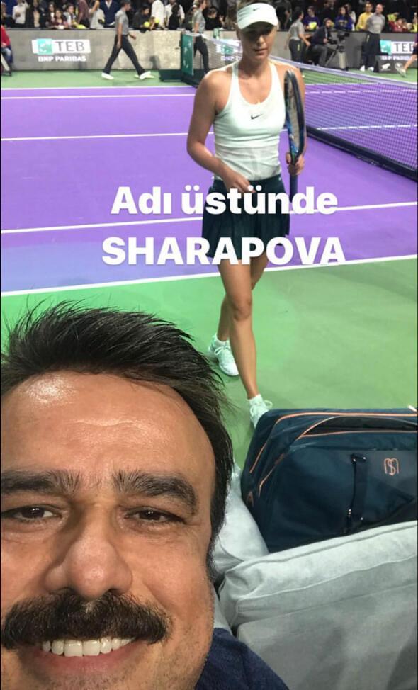Paylaşımları olay oldu Adı üstünde Sharapova