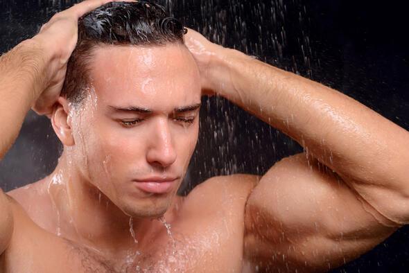 Sıcak bir duş