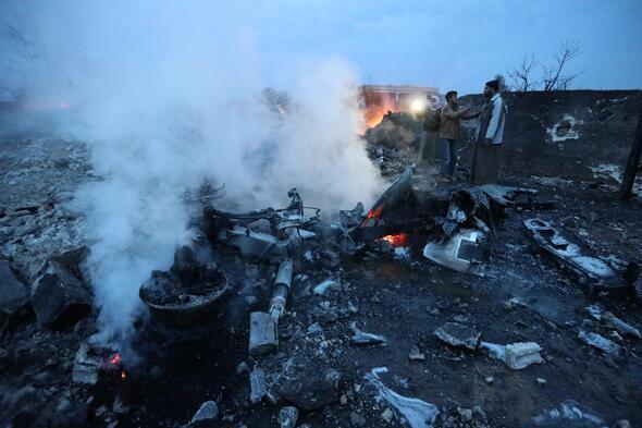 Suriyede Rus uçağı düşürüldü