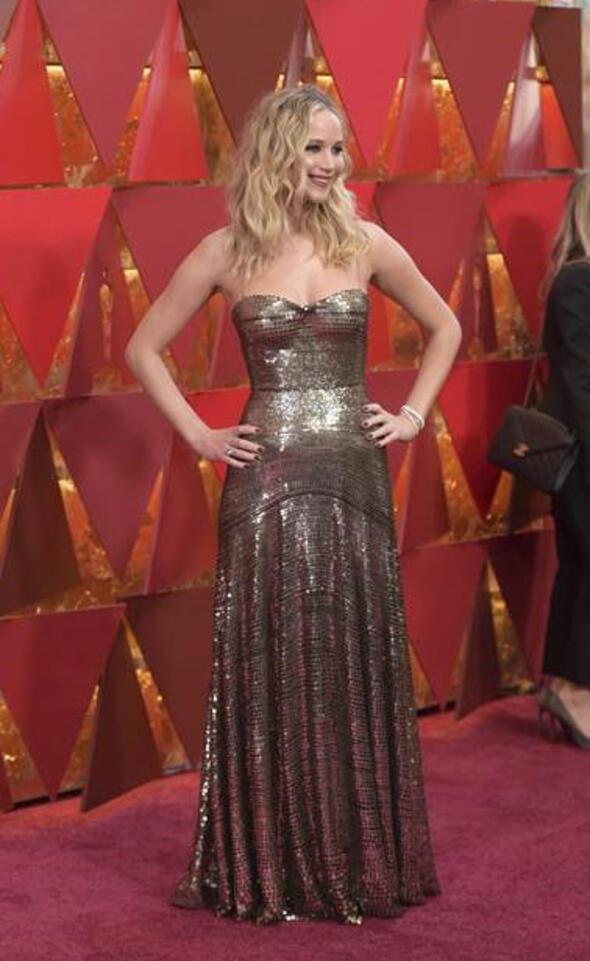 Oscar kırmızı halısında şıklık yarışı