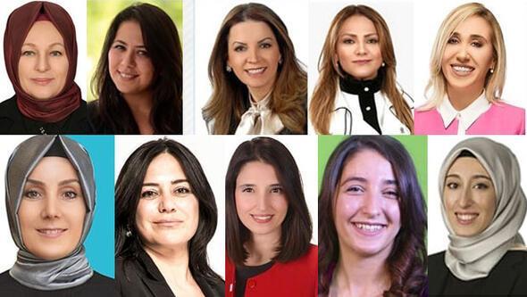 İşte Meclisin kadın vekilleri... Her altı vekilden biri kadın