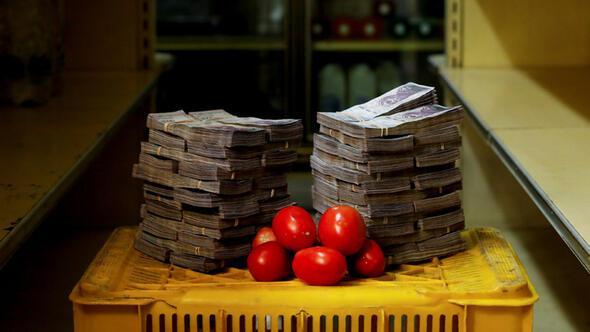 Bu fotoğraf kareleri ekonomisi çöken Venezuela'da çekildi