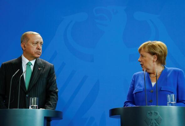 Erdoğan ile Merkel'den Ortak Basın Toplantısı