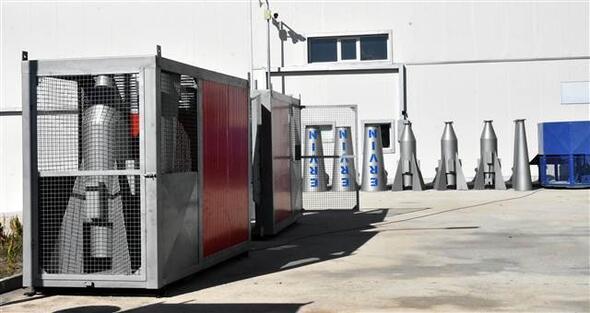 Van'da dolu önleme makinesi üretildi