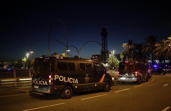 Katalonyada İspanya karşıtı gösteriler