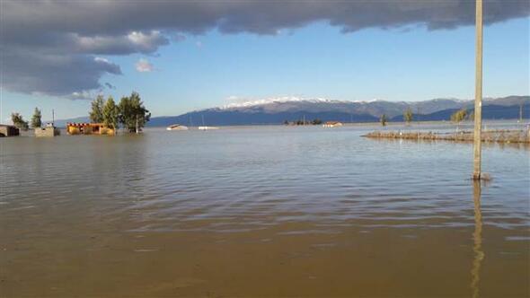 Hatay Haberleri: Amik Ovası sular altında