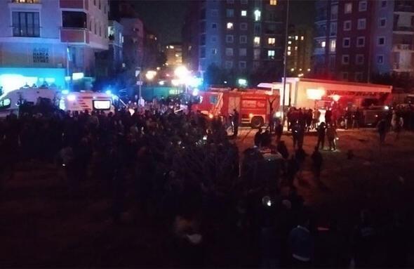İstanbulda askeri helikopter düştü... İşte ilk kareler...
