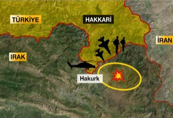 Kuzey Iraka kara ve hava harekatı Komandolar içeri girdi...