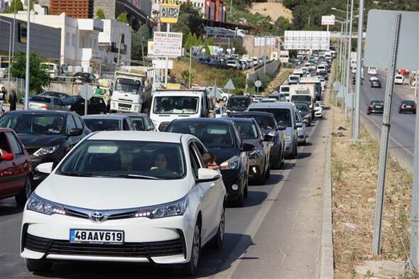 Bodruma 150 bin araç giriş yaptı