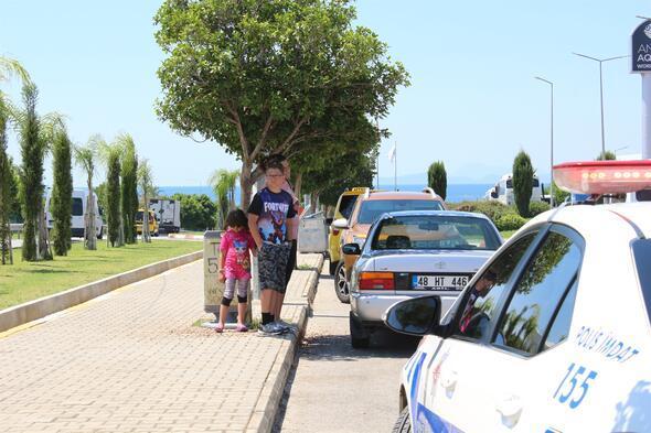 Kaza sonrası turistten pes artık dedirten hareket