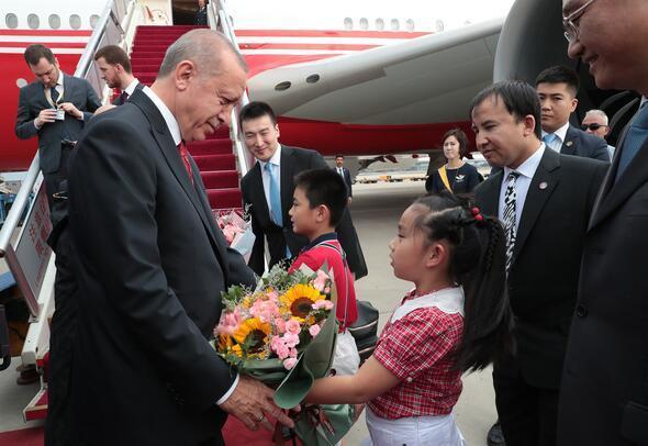 Cumhurbaşkanı Erdoğan Çinde
