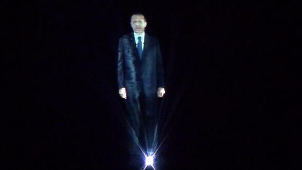 Başbakan hologramla Vanda konuşacak