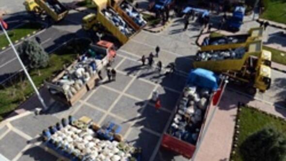Diyarbakırda dev uyuşturucu operasyonu