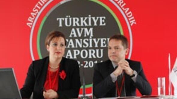 2014 yılında Türkiyede 347 AVM olacak
