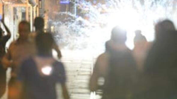 Taksimde Ahmet Atakan eylemi