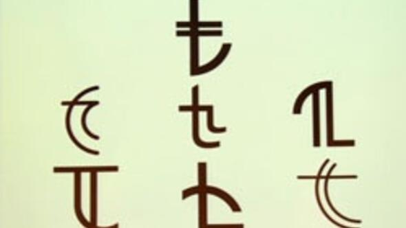 İşte TLnin simgesi