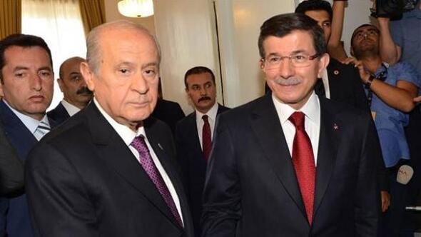 Image result for bahçeli ve davutoğlu