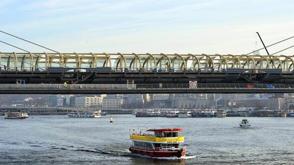 Haliç Metro Geçiş Köprüsü açılışa hazır