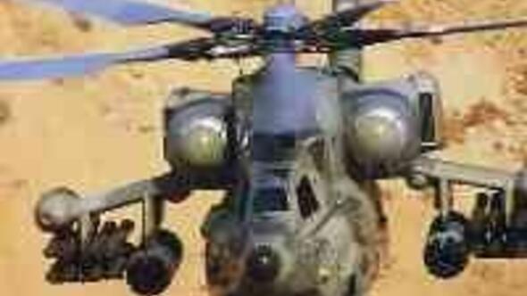 Türkiye Rusyadan savaş helikopteri alacak