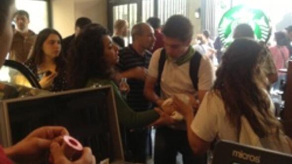 Starbuckstan Gezi olayları açıklaması