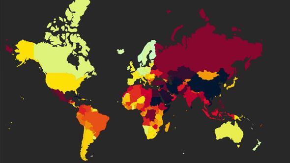 Sınır Tanımayan Gazeteciler Örgütü basın özgürlüğü raporunu yayınladı
