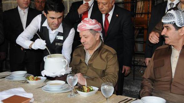 Barzani ve Perver Diyarbakırda