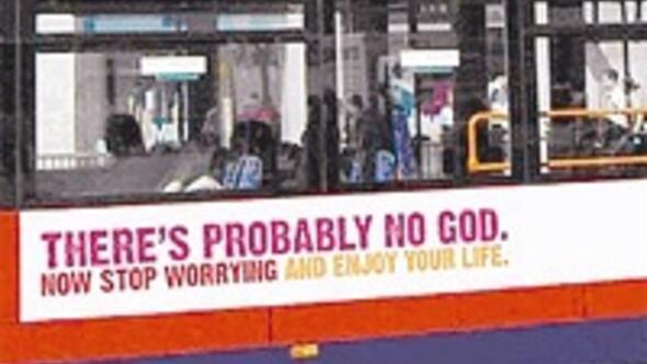 Londra'ya ateist otobüs