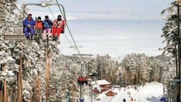 Doğu Anadolu'nun kar rekoru bu kış Sarıkamış'ta