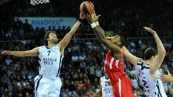 Anadolu Efes 74-73 Olympiakos