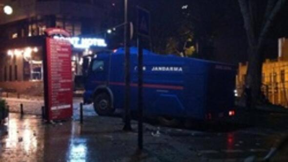 Jandarma TOMAsı da müdahalede
