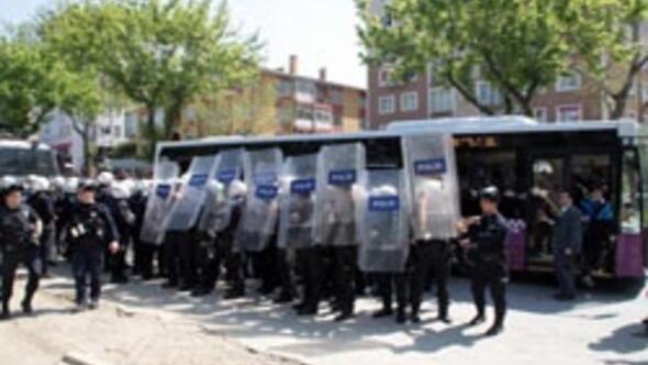 Marmara Üniversitesinde olay
