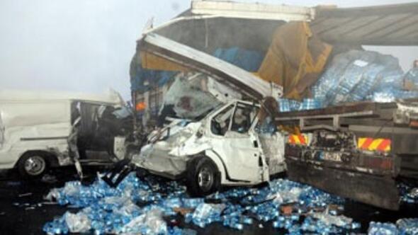 Bursada zincirleme kaza: 4 ölü