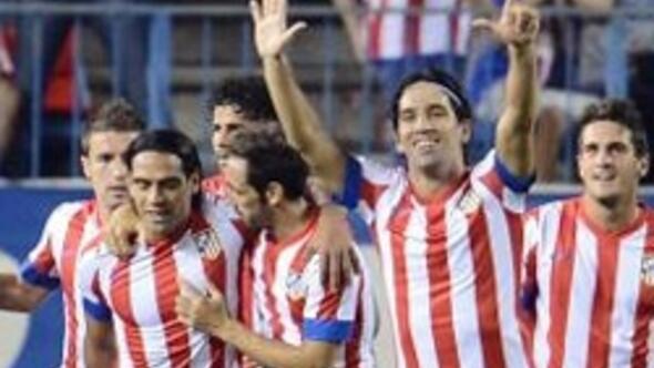 Arda Turan attı Atletico Madrid kazandı
