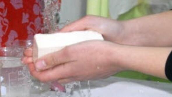 """""""Atık yağdan sabun"""" ürettiler"""