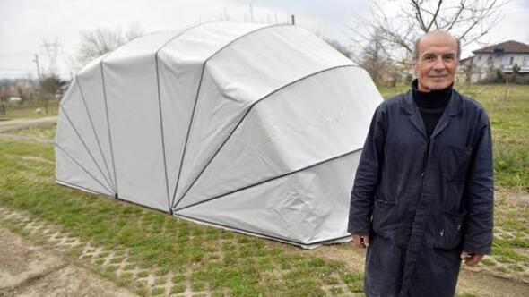 Portatif araç çadırı