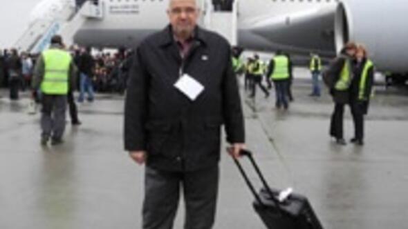 Dünyanın en büyük yolcu uçağı İstanbulda
