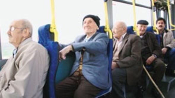 Ulaşım yaşlı ve engelliye bedava oluyor