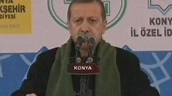 Başbakan Erdoğan Konyada konuştu