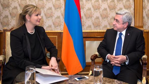 Ermenistan Cumhurbaşkanı Serj Sarkisyan: Sınırın açılması çok şeyi değiştirir